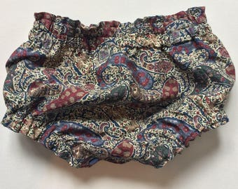 Paisley Romper, Baby Bloomers