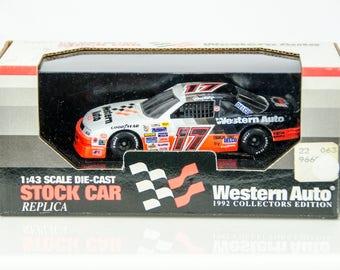 Western Auto 1992 Collectors Edition Darrell Waltrip #17 1/43 Diecast