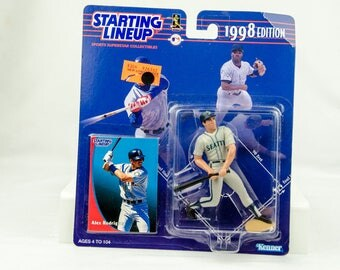 Starting Lineup Baseball 1998 Series A-Rod Alex Rodriguez Action Figure Mariners