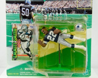 Starting Lineup 1999 NFL Dallas Cowboys Emmitt Smith #22 Action Figure