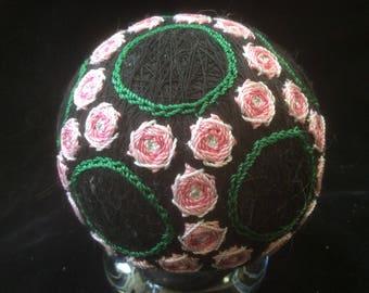 27 cm Mini Roses Temari