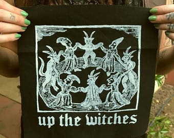 UP THE WITCHES Back Patch