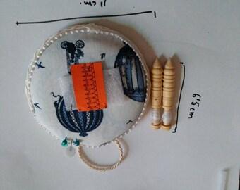 Mini round bolillero