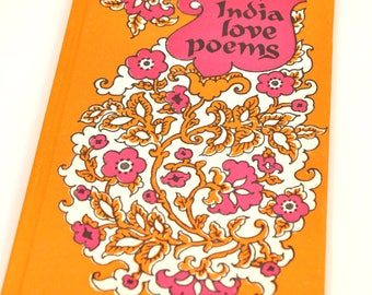India Love Poems // Vintage Book //Poetry //Tambimuttu / 1967