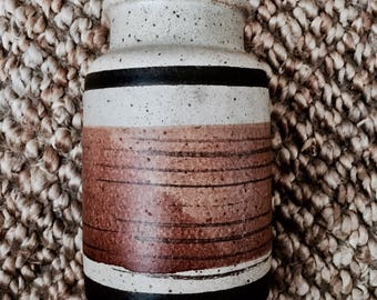 Vintage ceramic vase | Pottery vase