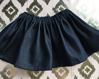 Baby Skirt / Girl Skirt / Toddler Skirt / Girl clothes / Baby Girl skirt / Baby Girl Outfit /  Girl Outfit / Denim skirt