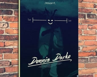 Movie Posters for Donnie Darko Art Print on Canvas Home Wall Decor