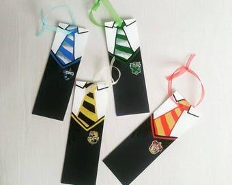 Set of 4 - Hogwarts House Bookmarks