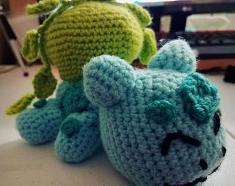 Lazy Bulbasaur [crochet]