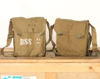 vintage military srteet urban retro army soviet gas mask bag