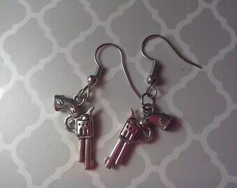 Bang Bang Gun earrings