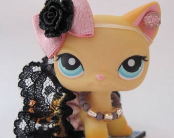 Littlest Pet Shop LPS clothes accessories Custom Skirt Bow *CAT/DOG Not Included