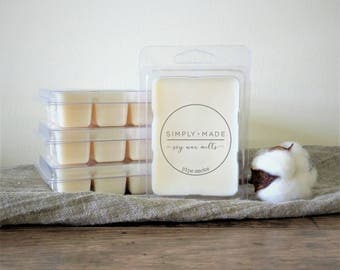 Pipe Smoke Soy Wax Melts, Scented Wax Melts, Soy Wax Tarts, Soy Melts, Clamshell Melts, Candle Melts