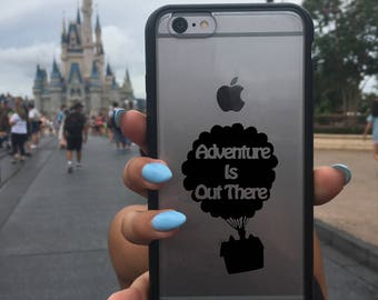 Up, Disney Up Sticker, Up Sticker, Up Decal, Phone Cover, Disney Stickers, Disney Vinyl Decals, Balloons, Adventure is out there