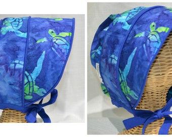 Sea turtle sun bonnet