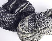 Black Hat? White Hat? - Original Fingering - BFL Hand-Dyed Yarn