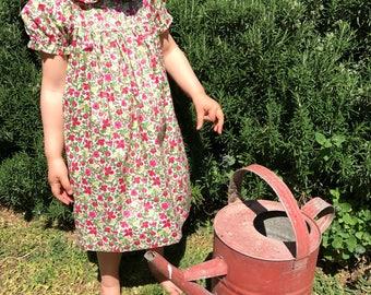 Liberty Girls Dress in 'Meadow'