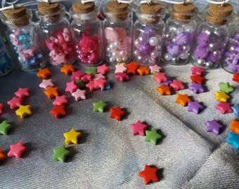 Kawaii magical fairy/party kei bottle necklaces- one of a kind, limited available