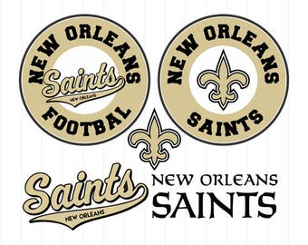 INSTANT DOWNLOAD - New Orleans Saints Svg, New Orleans Saints Svg File, New Orleans Saints Clipart, New Orleans Saints Cut File,Football Svg