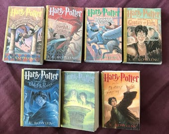 Mini Harry Potter book set