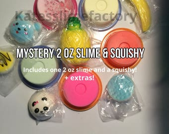 Squishy And Slime Mystery Box : Slime Etsy