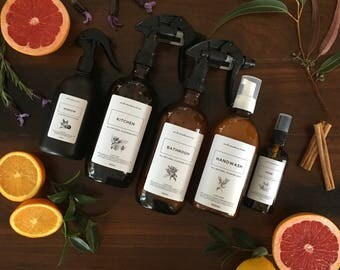 All Natural Home Cleaning Collection