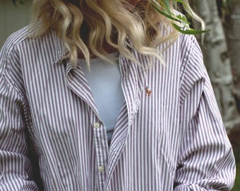"Ralph Lauren ""Boyfriend"" Shirt/ Oxford Shirt"
