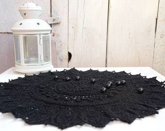 Crocheted Doily cotton