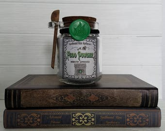 Floo Powder, A Decorative Jar of Magical Powder Used To Travel Floo Network, Harry Potter Inspired Cosplay