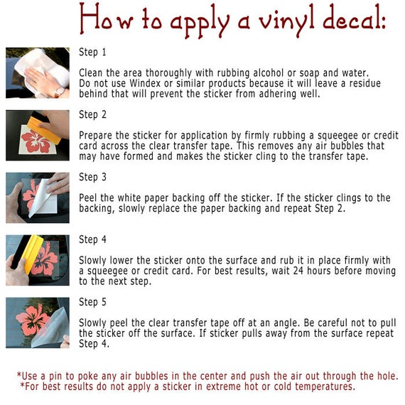 Vinyl Decals Acura Audi BMW Chevrolet Daewoo Dodge Ford Honda - Transfer tape for vinyl decals