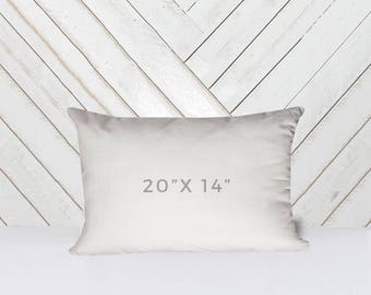 "20"" x 14"" Throw Pillow Insert"