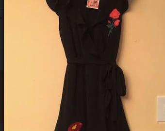 New Black Evening Dress Size M