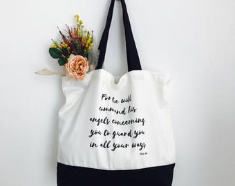 Angels Concerning You Tote