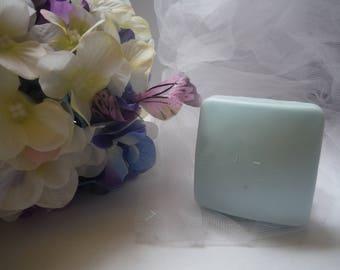 Fresh Linen Goat's Milk Soap - 2oz Square