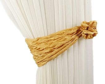 2pcs, Soft curtain tiebacks, Tie backs, Curtain decor, Curtain tie backs, Drapery tiebecks, Light tiebacks, Curtain decor, Fabrics tie back