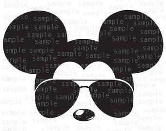Inspired Mickey Sunglasses aviator, SVG, JPG, PNG, download files, svg files, Mickey Mouse svg, Disney svg, Mickey svg, sunglasses svg