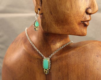 Chrysoprase Set