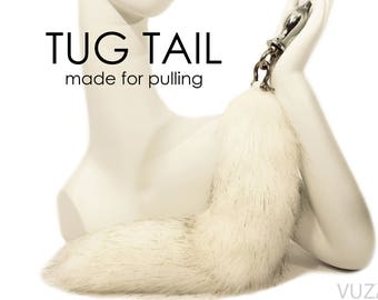 tail butt plug - fox tail butt plug - EXCLUSIVE TUG TAIL - butt plug – bdsm - tail plug - sex toys - fox tail plug– butt plug tail – mature