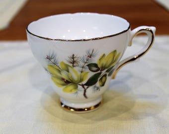 Delphine English Bone China Teacup