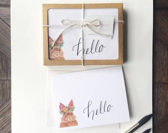Hello Stationery - Set of 10