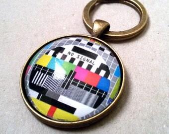 No Signal! -Keychain