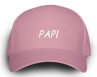 Papi Dad Hat Pink