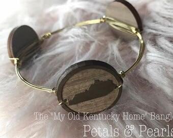 "The ""My Old Kentucky Home"" Bangle"