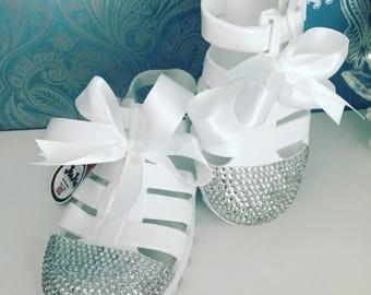 Juju crystal jellie sandals