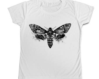 Moth watercolour T-shirt