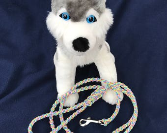 New Listing ** Tie-Dye 5' Paracord Dog Leash