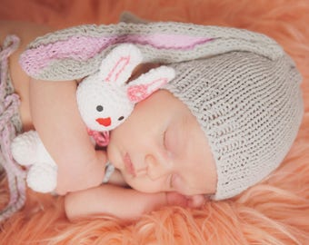 baby bunny outfit,bunny  hat,bunny costume,crochet bunny ,photography prop,bunny photoprop