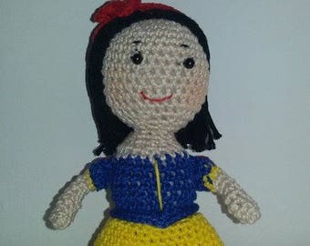 Snow White Amigurumi Crochet Doll/Princess/Princess///Handmade/gift ideas