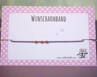 Desire bracelet mini tubes * Rosé gold