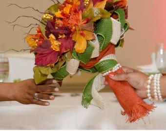 Burlap Rustic Bouquet